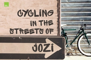 Cycling in the Streets of Jozi