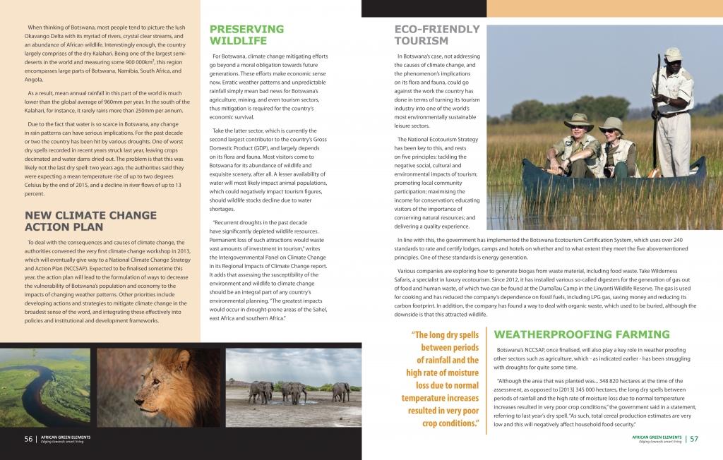 Country Focus Botswana