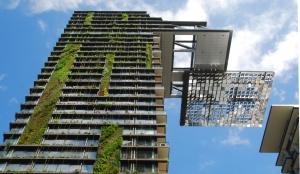 Rwanda 6 star rated green building